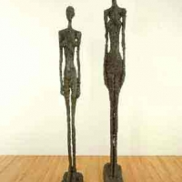 Tall figure II and Tall figure III 1960