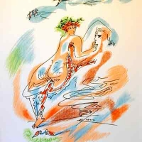 Cupid and Psyche from an edition of the Verve 1938