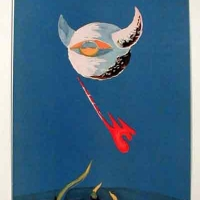 The Moon from an edition of the Verve 1938