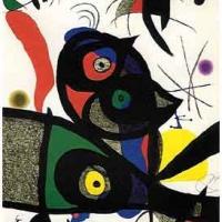 Oda a Joan Miro 1973 (lithograph)