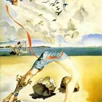 Paysage fantastique midi heroique 1943