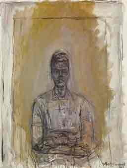 Caroline 1962 by Alberto Giacometti