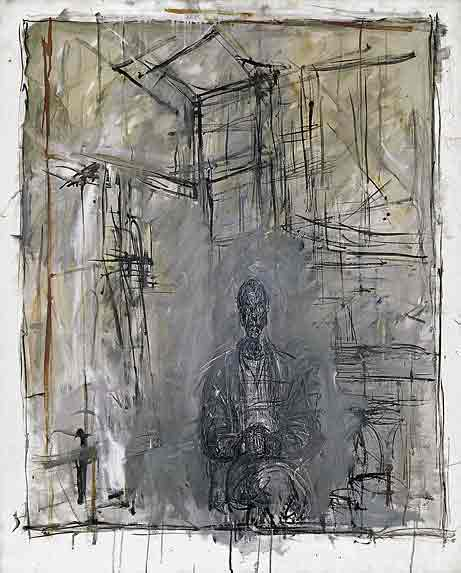 Diego 1953 by Alberto Giacometti