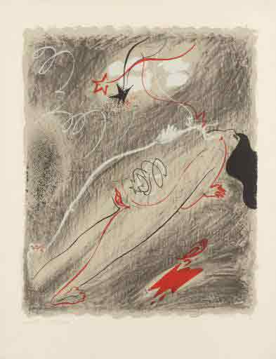 Childbirth 1955 by Andre Masson