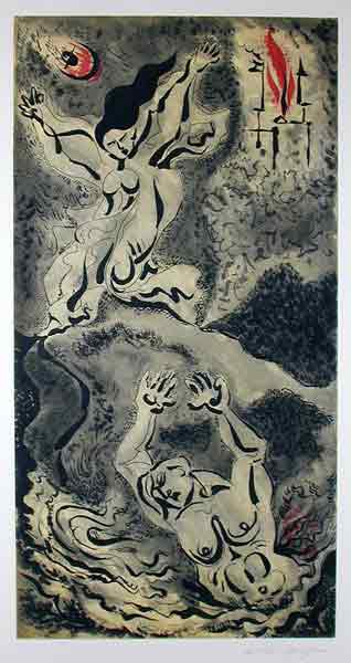 Hero and leander 1979 by Andre Masson