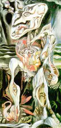 The Labyrinth 1930 by Andre Masson