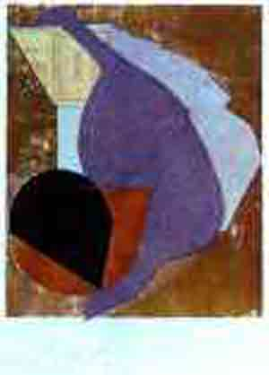 Before my birth 1914 by Jean Arp