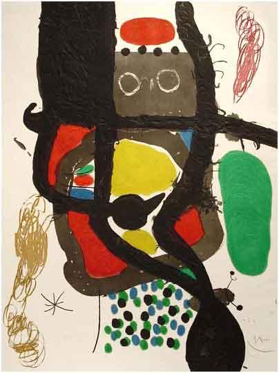 La cassier 1969 by Jean Miro