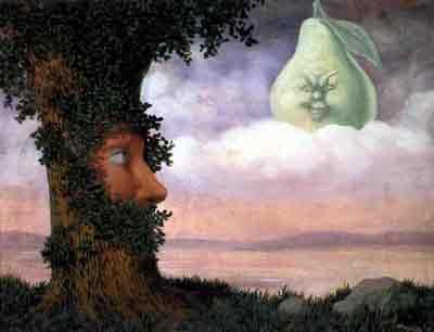 Alice au pays des merveilles by Rene Magritte