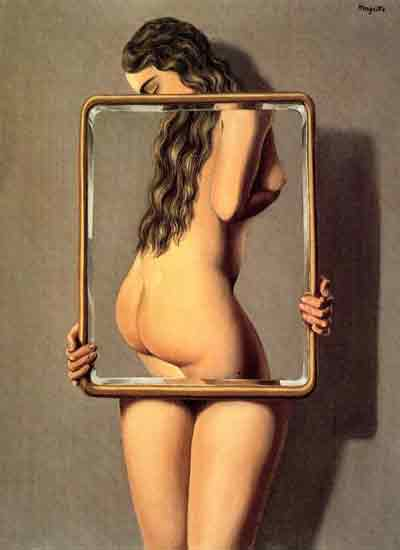 Dangerous liaison by Rene Magritte