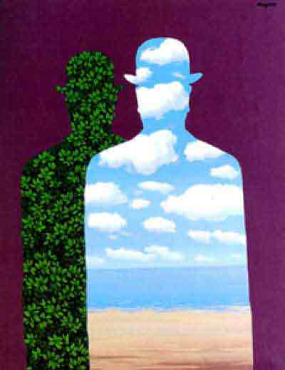 High society 1966 by Rene Magritte