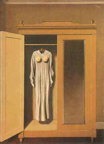 Homage to Mack Sennett 1934 by Rene Magritte
