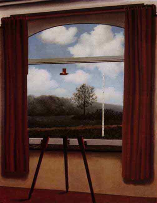 La condizione umana by Rene Magritte