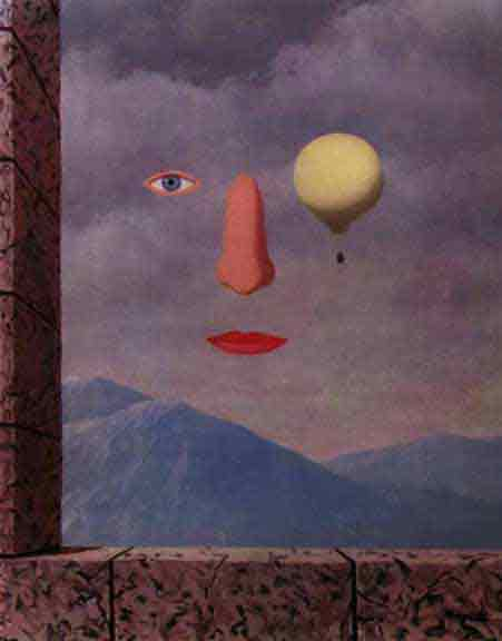 Lasihcle des umihres by Rene Magritte
