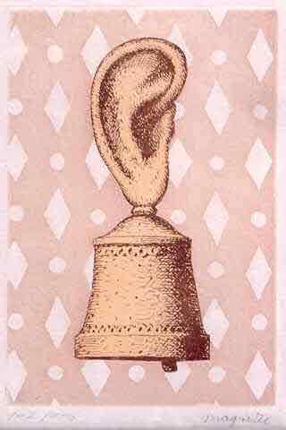 Le Lecon de Musique by Rene Magritte