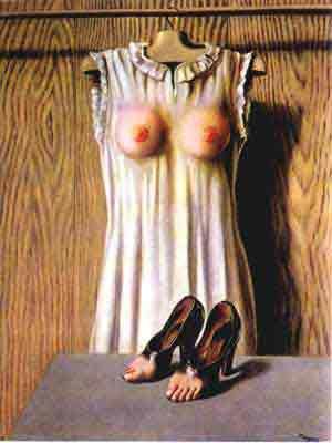 Philosophy in the boudoir 1947 by Rene Magritte