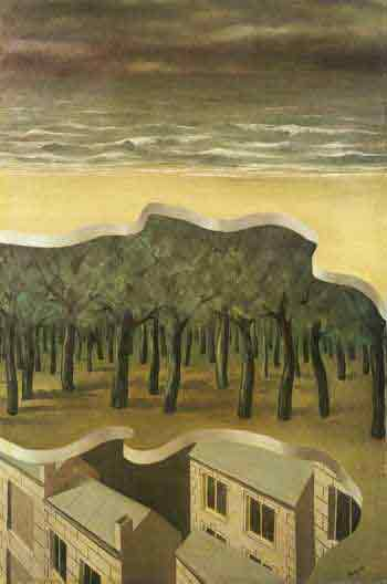 Popular panorama 1926 by Rene Magritte