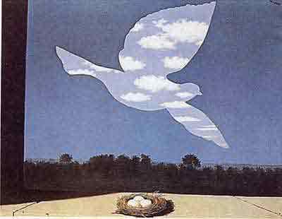 Return by Rene Magritte