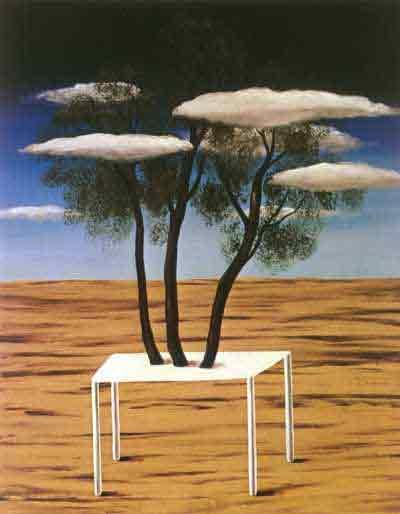 The Oasis 1925-7 by Rene Magritte