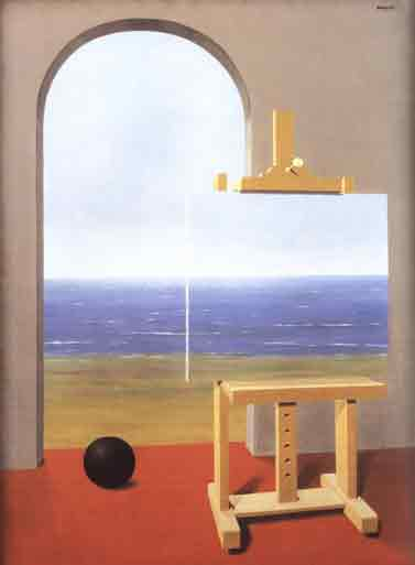 The human condition by Rene Magritte