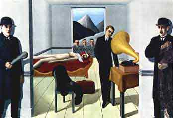 The menaced assasin 1926 by Rene Magritte