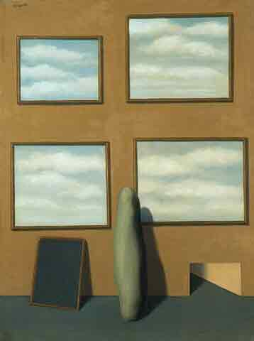 The secret life by Rene Magritte