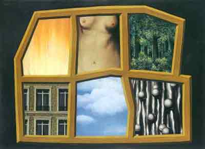 The six elements 1928 by Rene Magritte