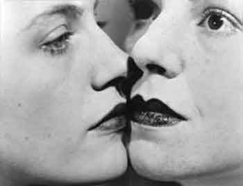 The kiss 1930 by Man Ray
