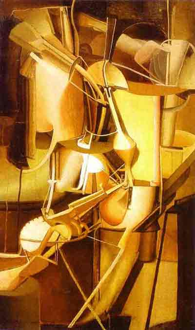 Bride by Marcel Duchamp