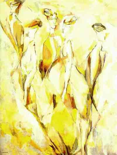 Dulcinea 1911 by Marcel Duchamp