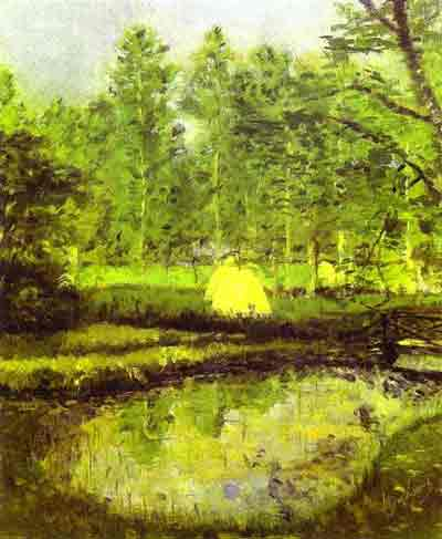 Landscape at Blainville 1902 by Marcel Duchamp