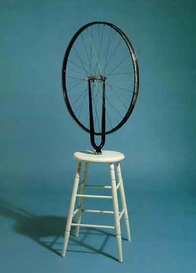 Bicycle wheel 1913 by Marcel Duchamp