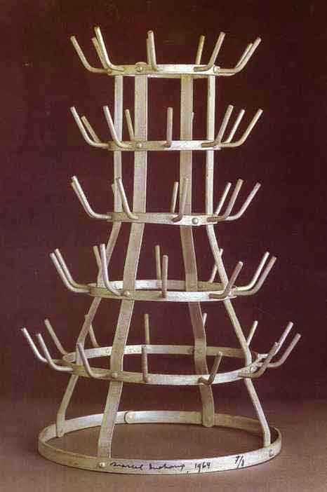 Bottlerack 1914 by Marcel Duchamp