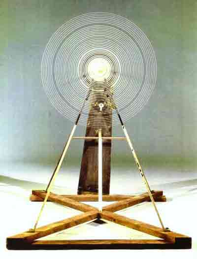 Rotary glass plates (precision optics) 1920 by Marcel Duchamp