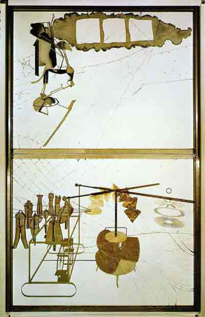 The bride stripped bare by her batchelors,even 1915-23 by Marcel Duchamp