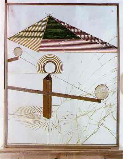 To be looked at with one eye close to for almost an hour 1918 by Marcel Duchamp
