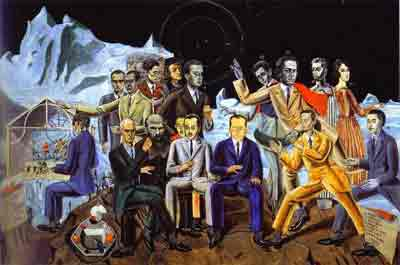 A friend's reunion 1922 by Max Ernst