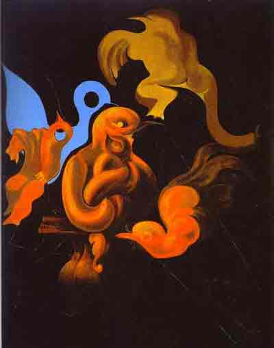 After us motherhood 1927 by Max Ernst