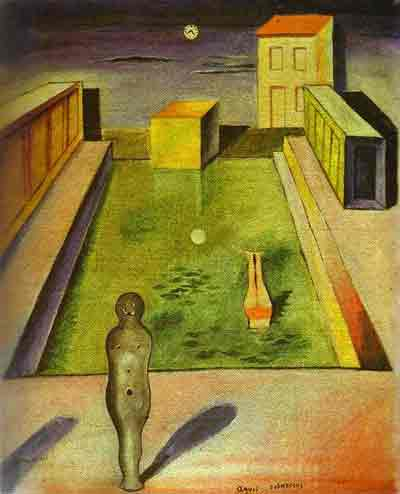 Aquis submersis 1919 by Max Ernst