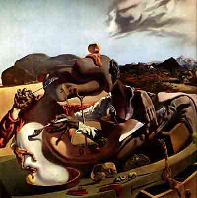 Autumn Cannibalism 1937 by Salvador Dali