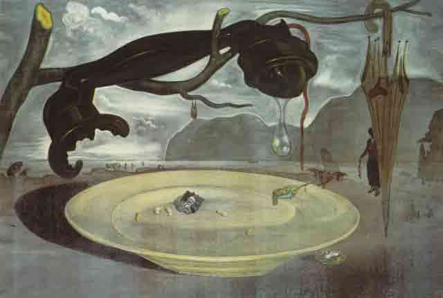 Enigma of Hitler by Salvador Dali