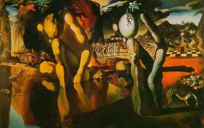 Metamorphosis of Narcissus 1937 by Salvador Dali
