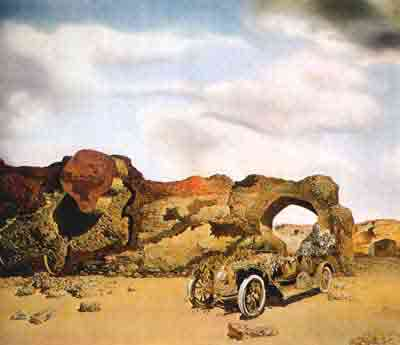 Paranoiac-critical solitude 1935 by Salvador Dali