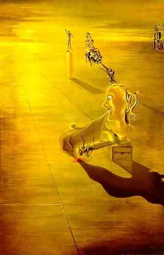Phantasmagoria 1929 by Salvador Dali