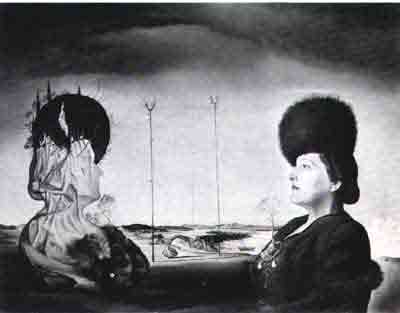 Portrait of Frau Isabel Styler-Tas 1945 by Salvador Dali