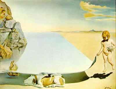 Sea-shade-dog by Salvador Dali