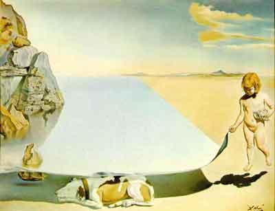 Sea-shade-dog by Salvador Dali