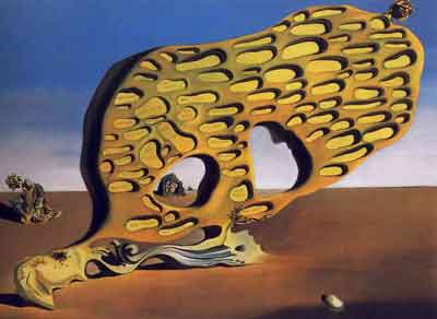 The enigma of desire 1929 by Salvador Dali