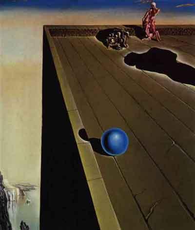 Vertigo by Salvador Dali