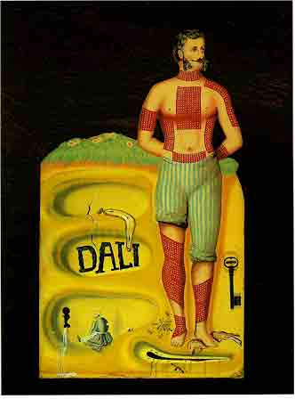 Surrealist Poster (1934) by Salvador Dali
